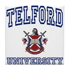 TELFORD University Tile Coaster