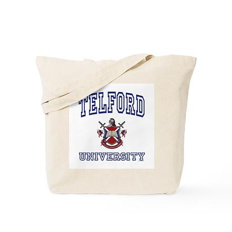 TELFORD University Tote Bag