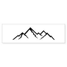 Mountains Bumper Bumper Sticker