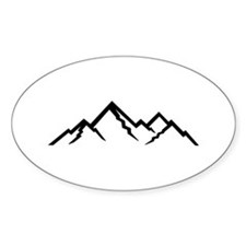 Mountains Decal