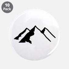 "Mountains 3.5"" Button (10 pack)"