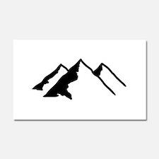 Mountains Car Magnet 20 x 12