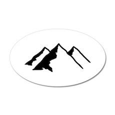 Mountains Wall Sticker