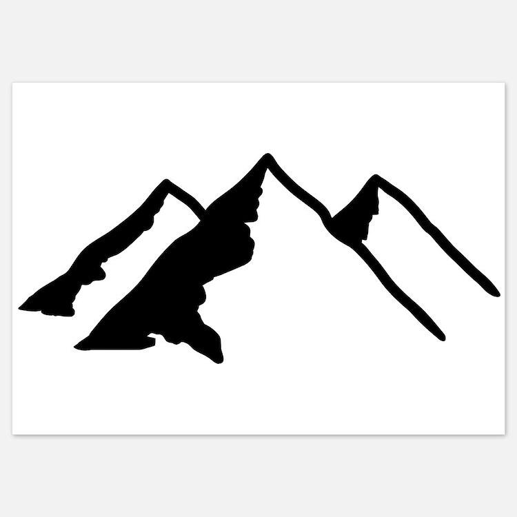 Mountains Invitations