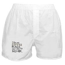 Black Like My Metal Boxer Shorts