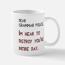 Grammar Police Day Mug
