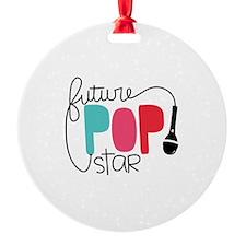 Future Pop Star Ornament