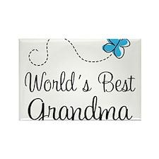 Cute World's best grandma Rectangle Magnet