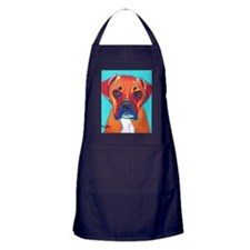 Cute Pop art Apron (dark)