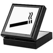 Cigarette smoking Keepsake Box