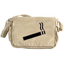 Cigarette smoking Messenger Bag