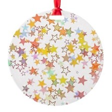 Colorful Stars Ornament