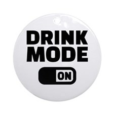Drink mode on Ornament (Round)