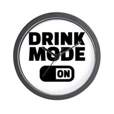Drink mode on Wall Clock