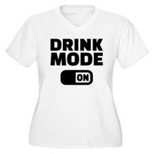 Drink mode on T-Shirt