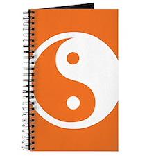 Yin Yang Orange Journal