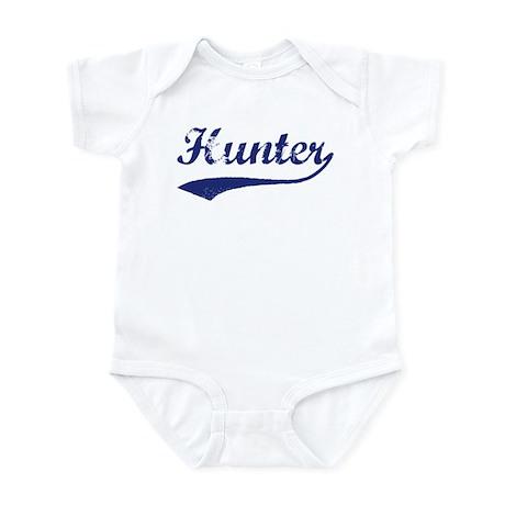Hunter - vintage (blue) Infant Bodysuit
