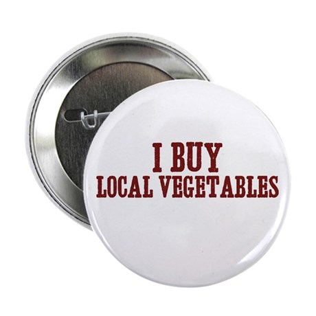 "I buy local vegetables 2.25"" Button (100 pack)"