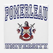 POMERLEAU University Tile Coaster