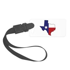 Lone Star State Luggage Tag