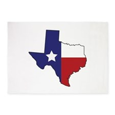 Lone Star State 5'x7'Area Rug