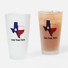 Lone Star Texas Drinking Glass