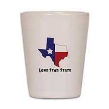 Lone Star Texas Shot Glass