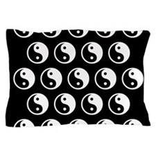 Yin Yang Pattern Pillow Case