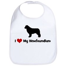 I Love My Newfoundland Bib