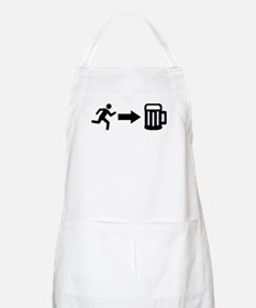 Run for beer Apron