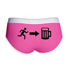 Run for beer Women's Boy Brief
