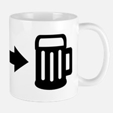 Run for beer Mug