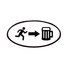 Run for beer Patches