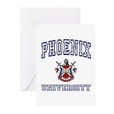 PHOENIX University Greeting Cards (Pk of 10)