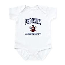 PHOENIX University Infant Bodysuit