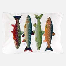 4 Char fish Pillow Case