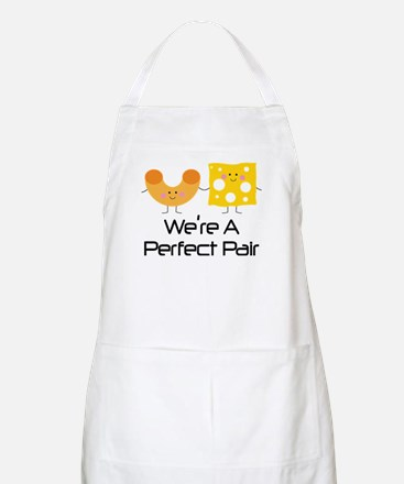 Couples Mac and Cheese Pair Apron