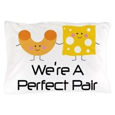 Couples Mac and Cheese Pair Pillow Case