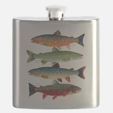 4 Char fish Flask