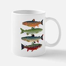 4 Char fish Mugs
