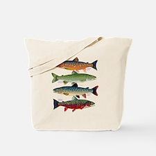 4 Char fish Tote Bag