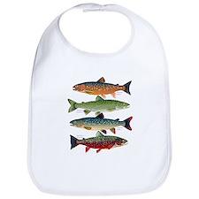 4 Char fish Bib