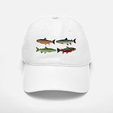 4 Char fish Baseball Baseball Baseball Cap