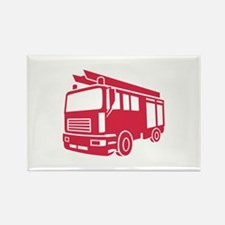 Fire truck Rectangle Magnet
