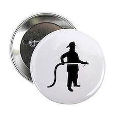 """Firefighter Fireman 2.25"""" Button"""