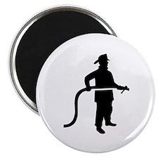 Firefighter Fireman Magnet