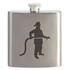 Firefighter Fireman Flask