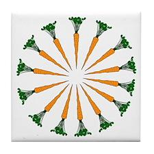 14 Carrot Ring Tile Coaster