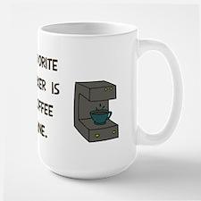 Favorite co-worker Large Mug