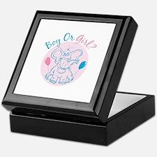 Boy or Girl Keepsake Box